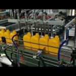 Fully Automatic Lube Oil  Filling Capping Labeling