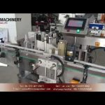 Automatic front and back labeling machine for round bottle|glass wine bottle sticker labellers