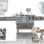 automatic round jar labeling machine for Egyptian client fix positioning labeller system