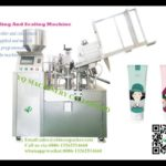 Automatic Plastic Soft Tube Filling And Heat Sealing Machine For Viscous Product Cream Paste