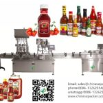 instruction on adjust filling capping machine for different height of bottles filler capper