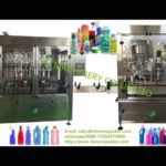 shampoo liquid filling and trigger capping machine for baby cream piston filler spray bottle screwin