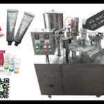 ultrasonic cosmetics tube filling and sealing machine for cream paste sofe tubes filler price
