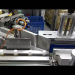 automatic round bottle labeling machine feeding system vertical labeler high speed label applicator