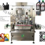 engine oil bottle capping machine supplier one head lid cover sealing equipment  with PLC control