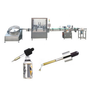 Fully Automatic Vial Filling Capping Machine