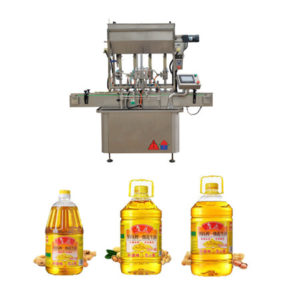 Small Scale Edible Oil Bottling Filling Machine