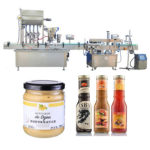 High Efficient Automatic Piston Syrup Filling Machine
