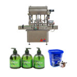 Automatic Lube Oil Engine Filling Machine Bottle Filler