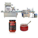 Fully Automatic Glucose Glass Bottle Filling Machine Line