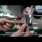 how to adjust sensor to detect bottle jar tube to be in right postion for adhesive labeler