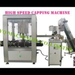 High speed cap closing machine suppliers rotary lid cover capping equipment máquina taponadora