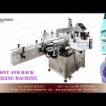 two sided bottle labeling machine for household chemicals product|sticker adhesive label applicators