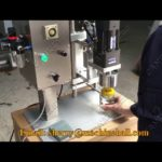 Glass bottle capping machine, jar capping machine