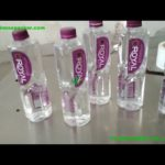 300ML and 1000ML two sides labeling machine round jars bottles cans label application  system