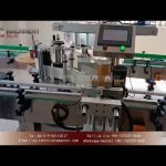Two side labeling machine for round bottle|front and back labeler for round jar