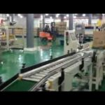 Cartonning and palletizer for 5L oil