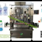 automatic inline single nozzle lid tightening machine for spray bottle capping machinery