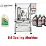 plastic lid sealing machine for 5L motor oil bottle capping machinery
