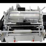 semi automatic wet glue labeling machine testing video how to use paste label applicator