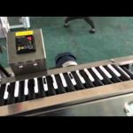 Automatic labeling machine with counter blood collection tube labeler in horizontal way