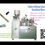 aluminium pipe filling and sealing machine for facial cream tooth paste ointment filler and sealer