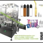 high speed chubby gorilla bottle filling capping machine 10-120ml cap lid cover screwing system