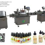 e juice bottle filling line unscrambling single head filling plugging capping machines working video