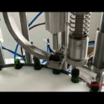 Factory sale automatic 10ml-100ml essential oil  bottle filling capping and labeling machine