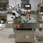 automatic adhesive labeler machine for oil vial bottle in horizontal way labeling system price
