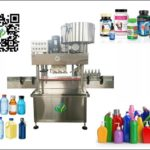 Automated screw capping machine for flat bottles spindle capper inline equipment testing video