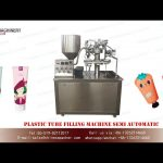 lotion tube filling machine for sale|YQ MACHINERY plastic tube filler and sealer semi automatic