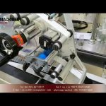 top labeling machine manufacturer for plastic ampoule|flat surface labeler