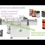 step 1 demo video for automatic wet glue labeling machine wrap around paste paper labeler