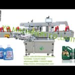 automatic front and back side labeling machine with Siemens touch screen label mesin