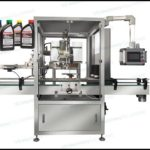 Plant Price For Automatic inline cap sealing machine for 5L motor oil bottle