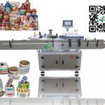 automatic labeling machine easy operation on touch screen Étiqueteuse