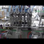 Production line for automatic  In line glass bottle rinsing filling capping and labeling machines