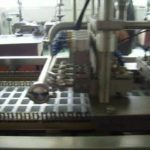Cup thermoforming,filling and sealing machine