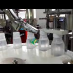 automatic overflow filling capping machine for juice 4 nozzles filler lid srewing equipment
