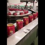 Beer coke Carbohydrate soft drink pop can filling and seaming machine