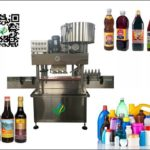automatic lid pressing machine for  soy sauce and vinegar bottles presser equipment suppliers