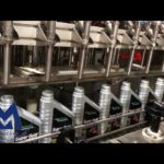 MIC-ZF8 Automatic Lube oil Engine oil filling capping machine line in Singapore