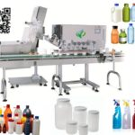Automatic capper inline spindle capper high speed bottle capping machines