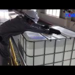 Tom Packaging Machinery | Automatic IBC Tank Filling Line