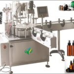 automatic sprayer cap inserting and capping machine rotary plugging capper system