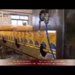 Automatic liquid dispenser for 1 gallon lubricant oil|bottle filling capping and labeling machines