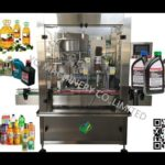 automatic trigger bottle capping machine spray plastic pet bottles lid tightening machine