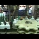 working video of alcohol filling line taken in customers factory