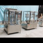 Automatic Bottle Filling Capping Labeling and Sealing Machine